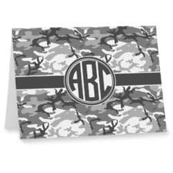 Camo Notecards (Personalized)
