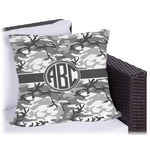 Camo Outdoor Pillow (Personalized)