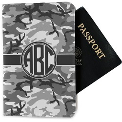 Camo Passport Holder - Fabric (Personalized)