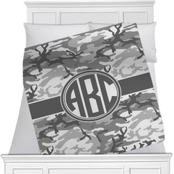 Camo Minky Blanket (Personalized)