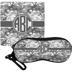 Camo Eyeglass Case & Cloth (Personalized)