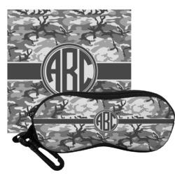 Camo Eyeglass Case & Cloth (Personalized)