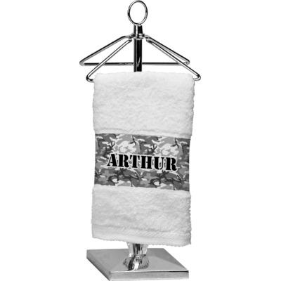 Camo Cotton Finger Tip Towel (Personalized)