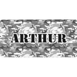 Camo Front License Plate (Personalized)