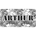 Camo Mini / Bicycle License Plate (Personalized)