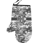 Camo Left Oven Mitt (Personalized)