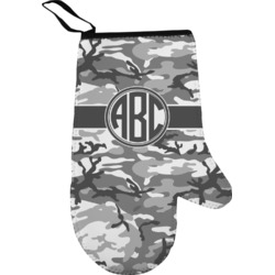 Camo Right Oven Mitt (Personalized)