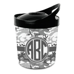 Camo Plastic Ice Bucket (Personalized)