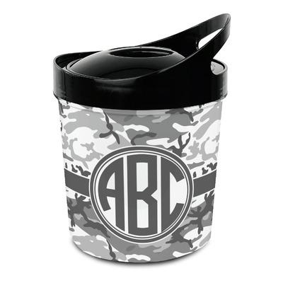 Camo Plastic Ice Bucket (Personalized)
