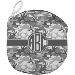 Camo Round Coin Purse (Personalized)