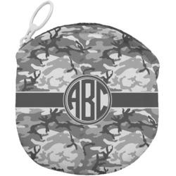 Camo Round Coin Purse (Personalized)
