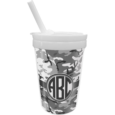Camo Sippy Cup with Straw (Personalized)