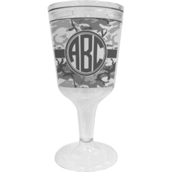 Camo Wine Tumbler (Personalized)