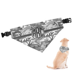Camo Dog Bandana - Large (Personalized)
