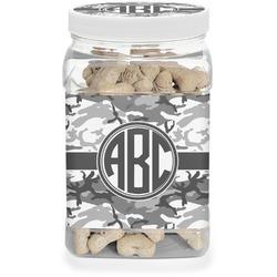 Camo Dog Treat Jar (Personalized)