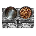 Camo Dog Food Mat (Personalized)