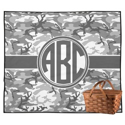 Camo Outdoor Picnic Blanket (Personalized)