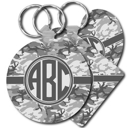 Camo Plastic Keychains (Personalized)