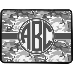 Camo Rectangular Trailer Hitch Cover (Personalized)