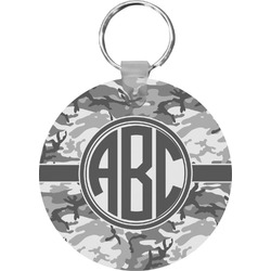 Camo Round Keychain (Personalized)