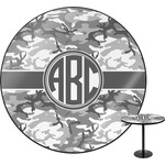 Camo Round Table (Personalized)