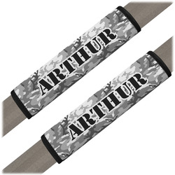 Camo Seat Belt Covers (Set of 2) (Personalized)