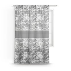 "Camo Sheer Curtain - 50""x84"" (Personalized)"