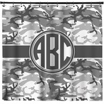 Camo Shower Curtain (Personalized)