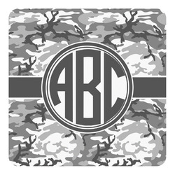 Camo Square Decal - Custom Size (Personalized)