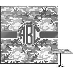 Camo Square Table Top (Personalized)