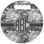 Camo Stadium Cushion (Round) (Personalized)