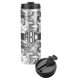 Camo Stainless Steel Tumbler (Personalized)
