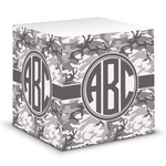 Camo Sticky Note Cube (Personalized)