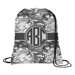 Camo Drawstring Backpack (Personalized)