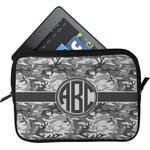 Camo Tablet Case / Sleeve (Personalized)