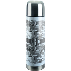 Camo Stainless Steel Thermos (Personalized)