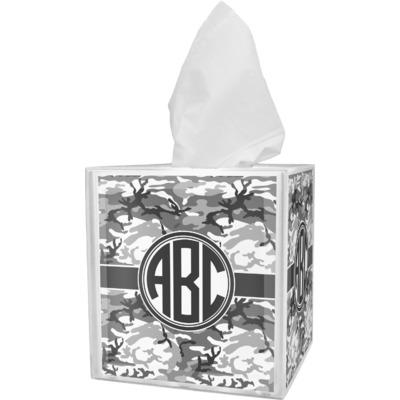Camo Tissue Box Cover (Personalized)