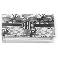 Camo Vinyl Checkbook Cover (Personalized)