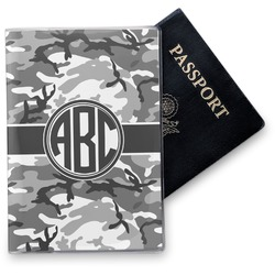 Camo Vinyl Passport Holder (Personalized)