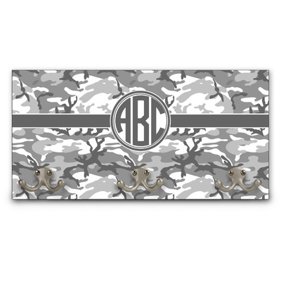 Camo Wall Mounted Coat Rack (Personalized)