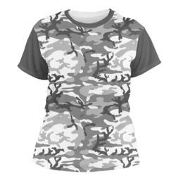 Camo Women's Crew T-Shirt (Personalized)