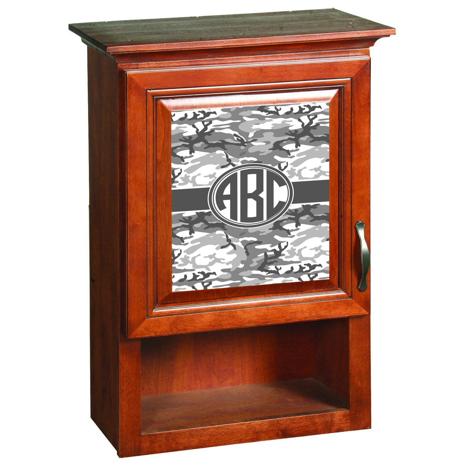 Camo Cabinet Decal Xlarge Personalized Youcustomizeit