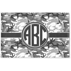 Camo Woven Mat (Personalized)