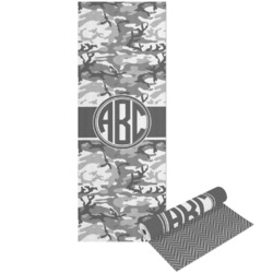 Camo Yoga Mat - Printable Front and Back (Personalized)