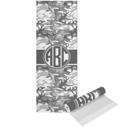 Camo Yoga Mat - Printed Front (Personalized)