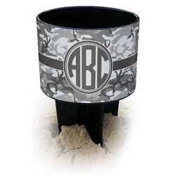 Camo Black Beach Spiker Drink Holder (Personalized)