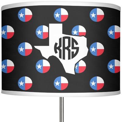 "Texas Polka Dots 13"" Drum Lamp Shade (Personalized)"