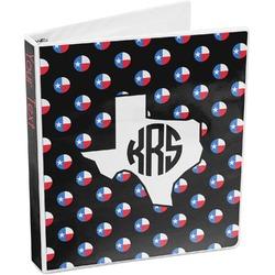 Texas Polka Dots 3-Ring Binder (Personalized)