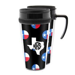 Texas Polka Dots Acrylic Travel Mugs (Personalized)