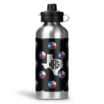 Texas Polka Dots Water Bottle - Aluminum - 20 oz (Personalized)